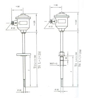供应防爆热电偶 防爆型热电阻(可非标定做)